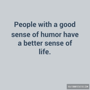how to develop good sense of humour