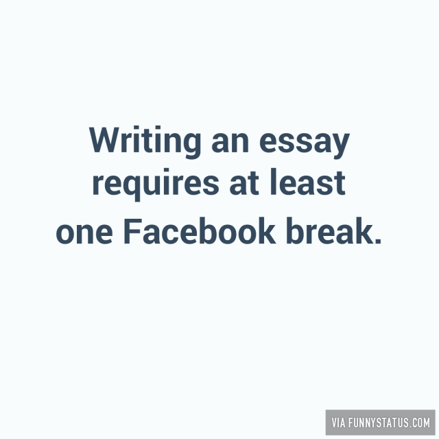 facebook essay Wishpond's essay contest software app makes it easy to create online and facebook essay contests and voting competitions try free for 14 days.