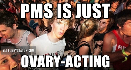 pms s ovary-acting